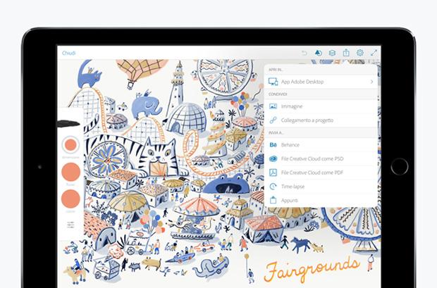 disegno a mano libera iPad