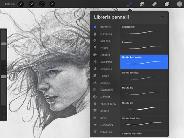 app per disegnare su iPad