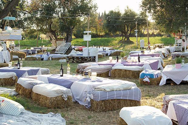 picnic all'aria aperta