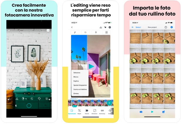 app video stop motion