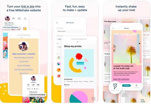 app link bio instagram